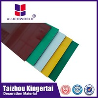 Alucoworld well-received brushed finish silver acp boards interior&exterior wall decoration ACP composite panels definition