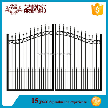 New simple iron gate designs house steel gate design for Simple gate designs for homes