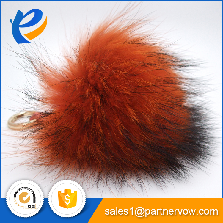 Hot sale raccoon fur trim Best price high quality