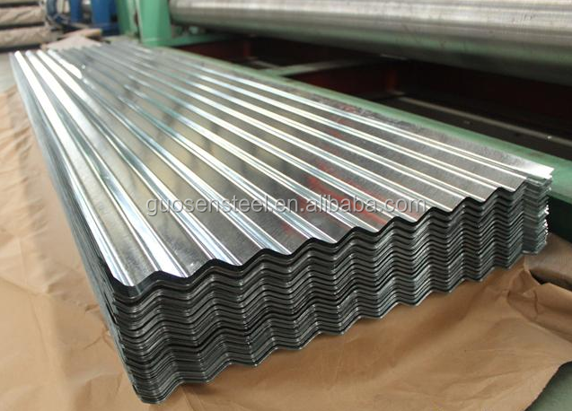 Dipped ZINCALUME / GALVALUME Galvanized Corrugated Steel / Iron Roofing Sheets Metal Sheets
