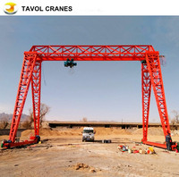 single beam mobile 50 tons crane