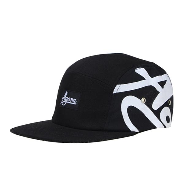 e163e145dae3d Custom nylon hats 5 panel design your own woven patch 5 panel hat cap