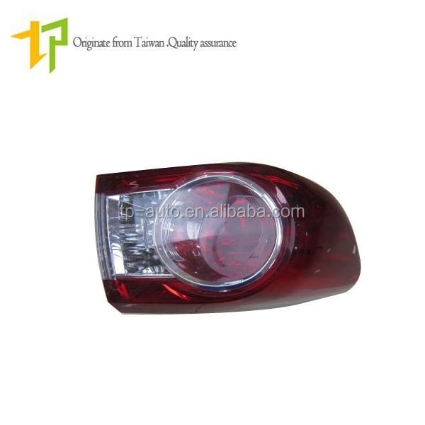 reliable quality auto parts wholesale tail lamp for Toyota Corolla 2011 Altis