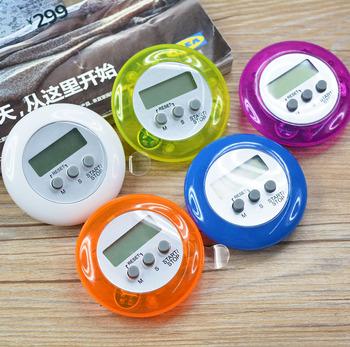 Fashion Round Shape Digital Lcd Kitchen Clock Mini Countdown Timer ...