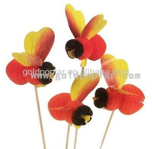 MM6002 Bee Decorative Party Picks