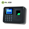 TFT Color Display Low Price Punch Card & Fingerprint Time Attendance Machine