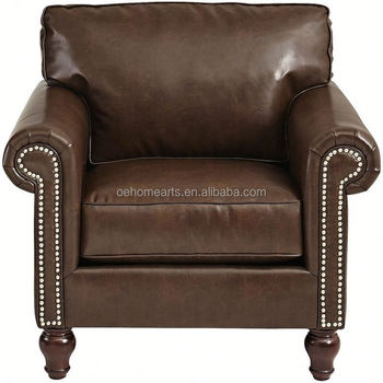 New Design Clic Low Price Nubuck Leather Sofa