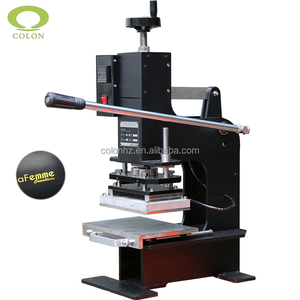 Manual CL-HT180 hot stamp embossing foil stamping machine
