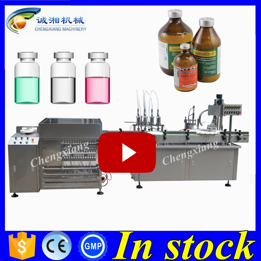 2017 New olive oil filling machine 4 heads