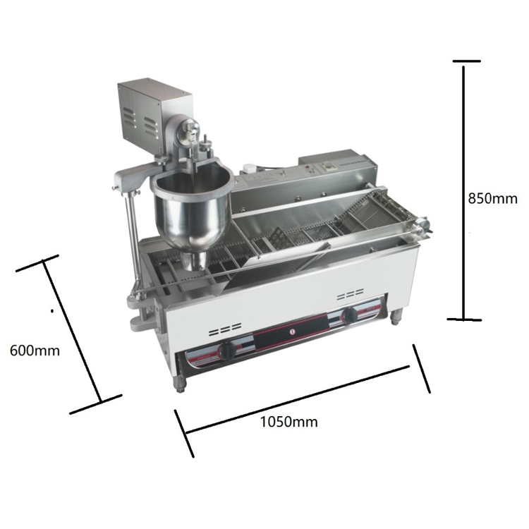 Factory price CE automatic mini donut maker doughnut commercial donut machine