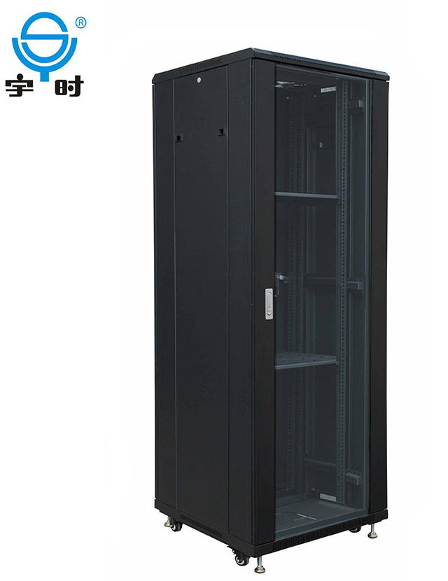 Hot sale good price 19 inch network cabinet stock 37u 40u cold rolled steel rack server
