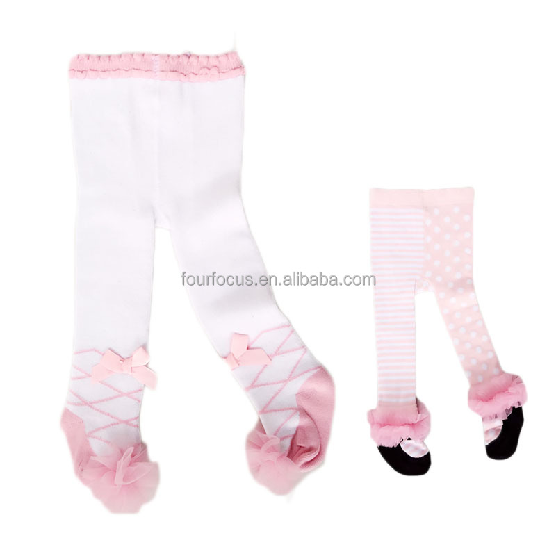 100%cotton knitting baby clothes baby tights kids clothing
