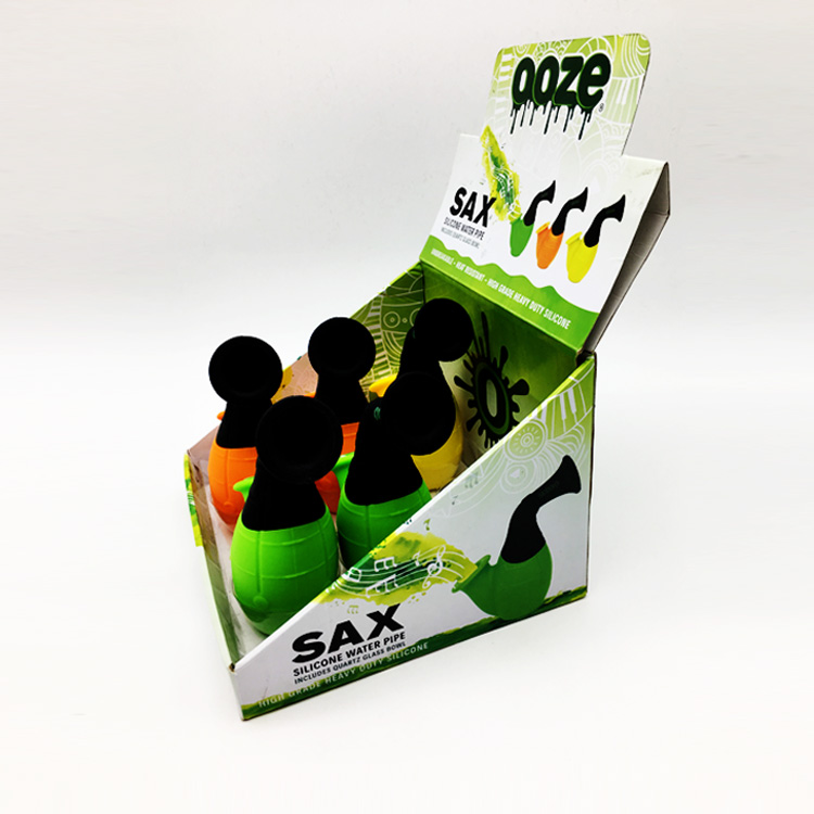Custom printed paper cardboard corrugated counter display boxes for products show