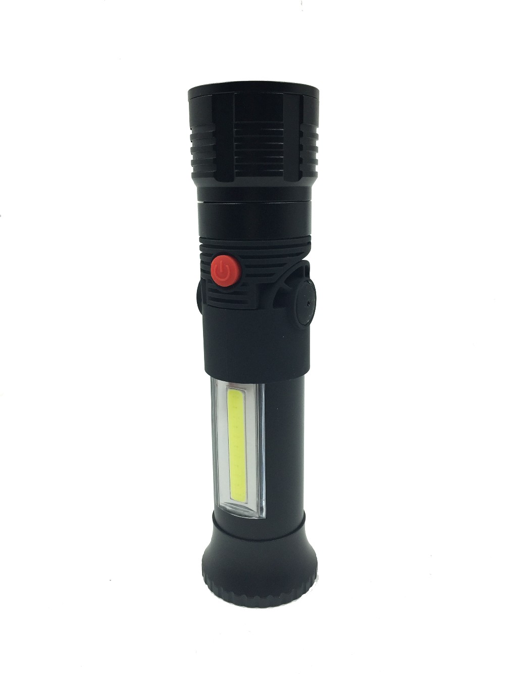 Aluminum Flashlight With Zoom Function Flexible LED Work Light With Magnetized