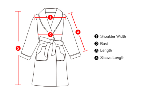 Five-star hotel bathrobe for autumn and winter double fabric