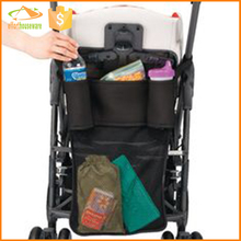 Polyester and mesh Large Diapper Mummy stroller bag