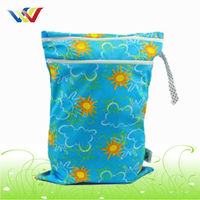 Wet Diaper Cloth Bag For Baby