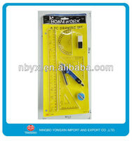 8pcs plastic stationery set for promotion