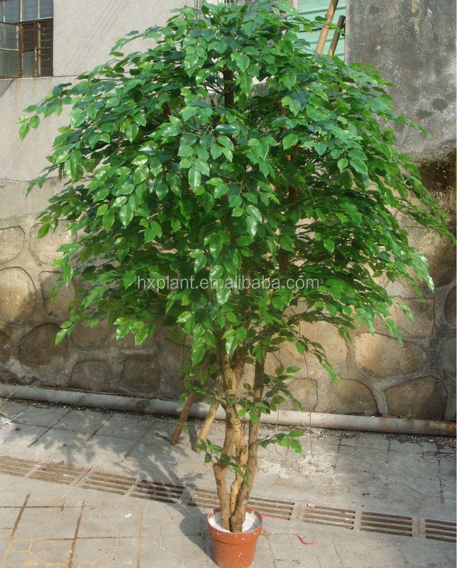 Hot vente 2015 arbre artificiel plantes d 39 int rieur verte for Arbres artificiels interieur