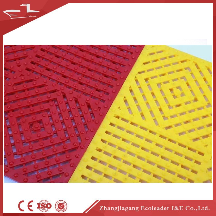 Hotel Outdoor Entrance Waterproof Module Floor Door Mat Commercial Industrial Building Entrance Mat
