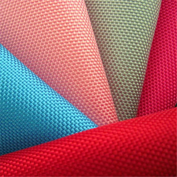 PU/PVC coated fabric breathable 300D polyester fabric