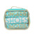 Portable Clear PVC Window Cosmetic Bag Set Cosmetic Bag Clear With 3 Piece Canvas Drawstring Bag