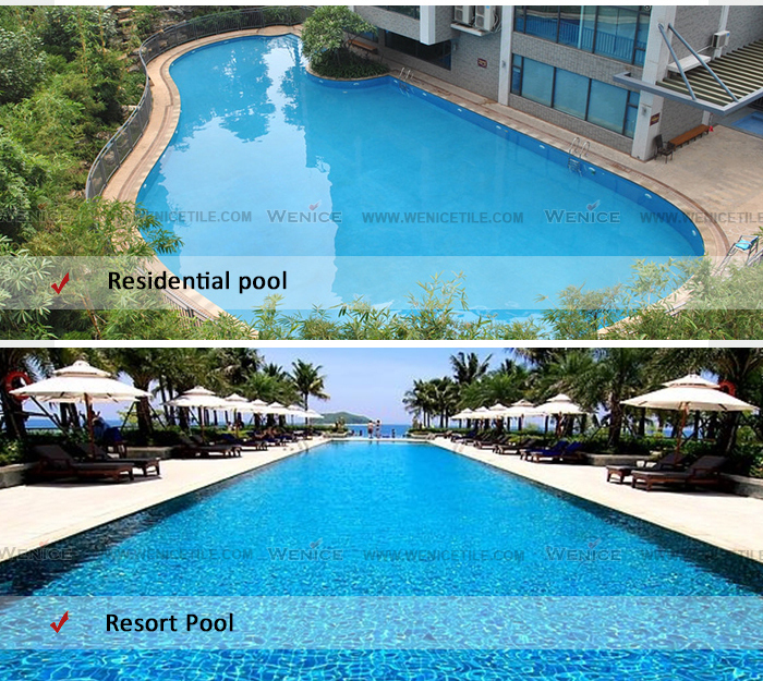 Olympic Size Swimming Pools With Mansions: Non-slip Swimming Pool Ceramic Tile Alibaba In Spain