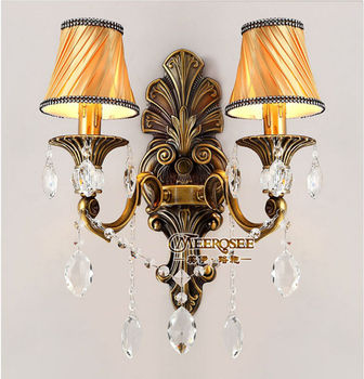 2013 Vintage Bronze Wall Shades Lamp Crystal Light Fixtures Md8736 L2 Buy Shade Lamp Kitchen Wall Lights Contemporary Vintage Wall Light Fixtures