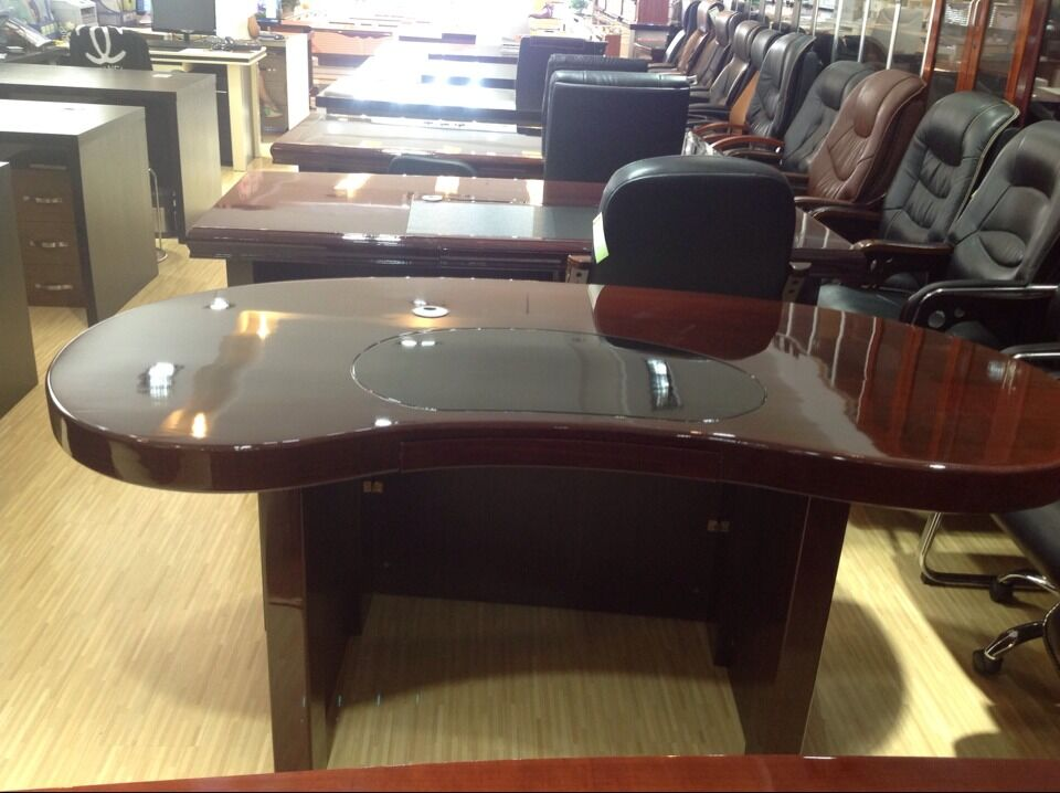 round office desk. professional office furniture half round european style semi circle 100 mdf executive desk