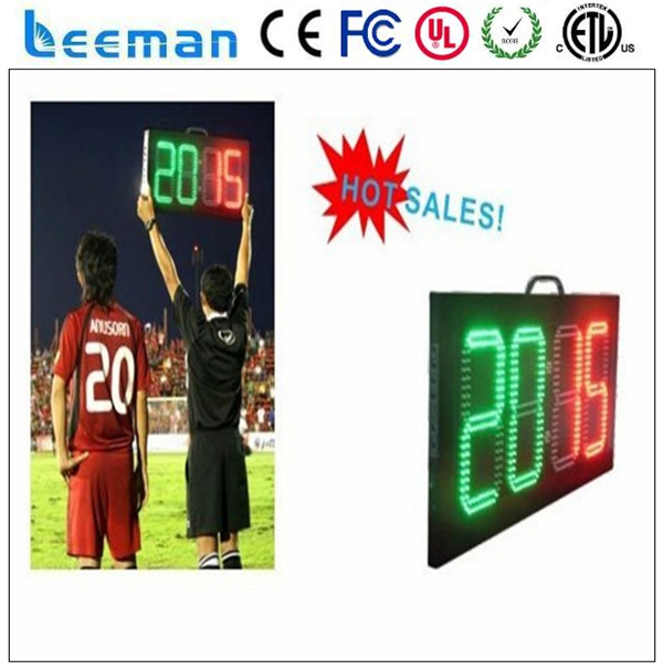 scrolling led signs programmable sports stadium perimeter led panel monitor led portable tennis scoreboard
