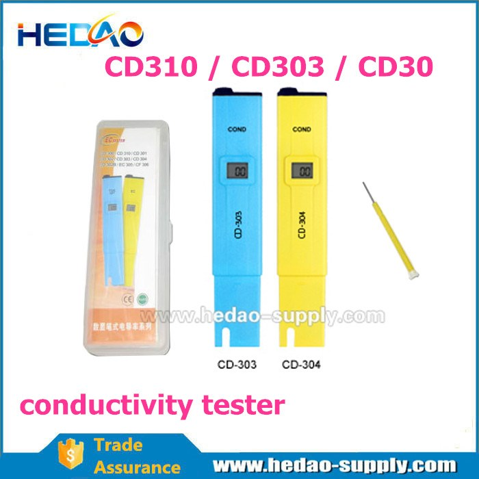 CD304 Portable conductivity water monitor electrical conductivity testing