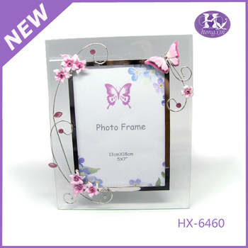 New Product Hx-6460 4x6 Funny Magnetic Glass Photo Frame - Buy Glass ...