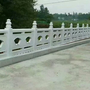 decorative plastic molds moulds for landscape precast concrete cement fence guardrails handrails railings