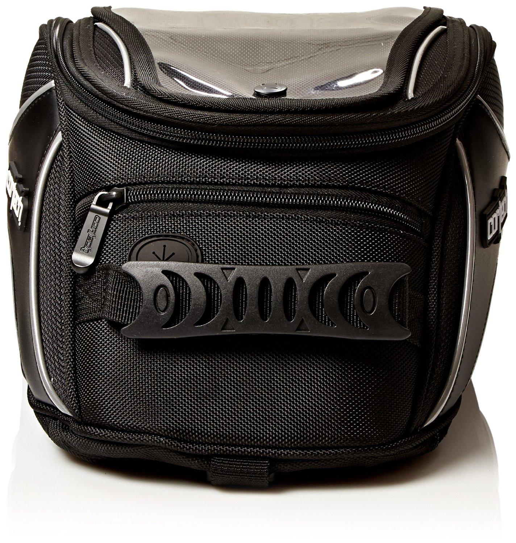 Cortech 8230-0605-08 Black Super 2.0 Strap Mount Tank Bag