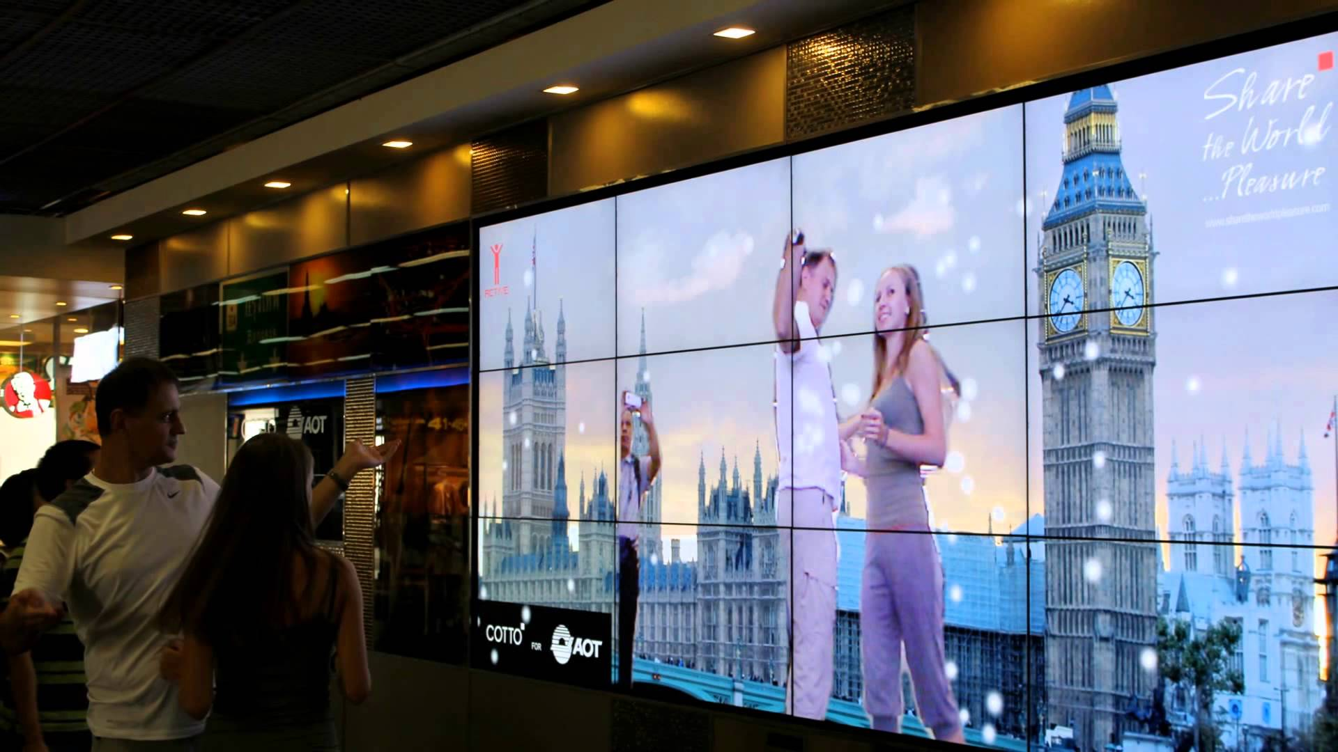 Free Splicing 46inch Seamless Video Wall Screen Lcd Video