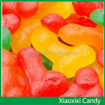 candy penis shapped gummy