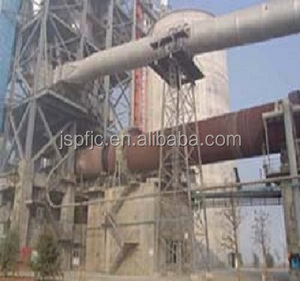 dry process cement clinker rotary kiln with ISO produced by Pengfei