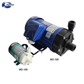 Engine driven high capacity magnetic water pump