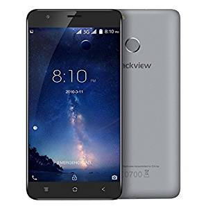 Generic Blackview E7S 16GB, Network: 3G, Fingerprint Identification, 5.5 inch Android 6.0 MTK6580 Quad Core up to 1.3GHz, RAM: 2GB, Support GPS, Dual SIM(Grey)