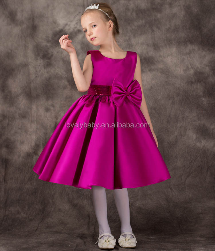New Trendy 2016 Latest Formal Dress Patterns Girls A-line Dress ...