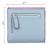 Women's RFID Blocking Small Compact Bifold Leather Credit Card Wallet