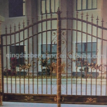 Main design decorative wrought iron gate with good price
