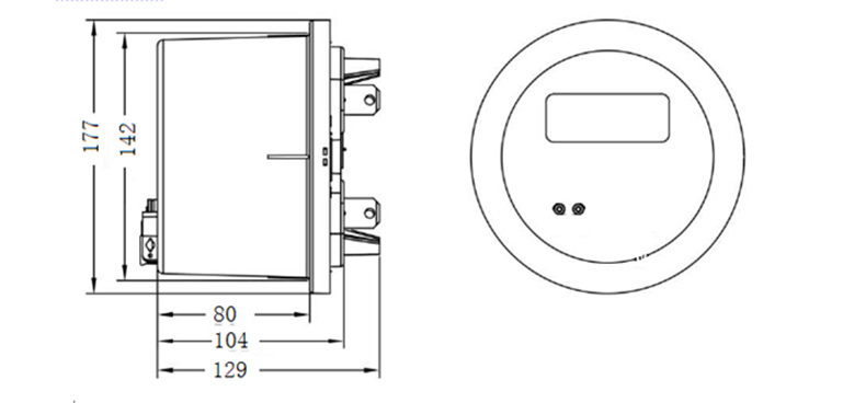 microelectronic technology round single phase three wire