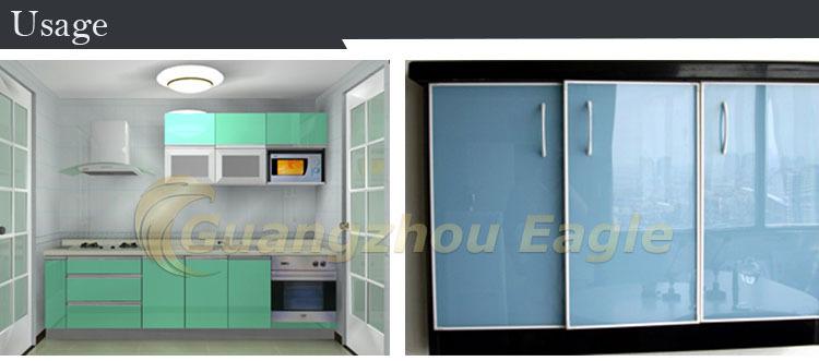 0.15mm Gloss Kitchen Backsplash Glitter Vinyl Sheet Self Adhesive ...