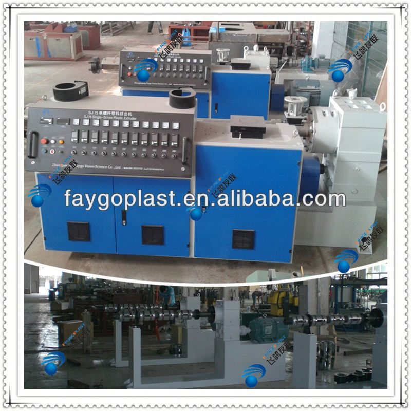 low power 4 in 1 pvc pipe extrusion line