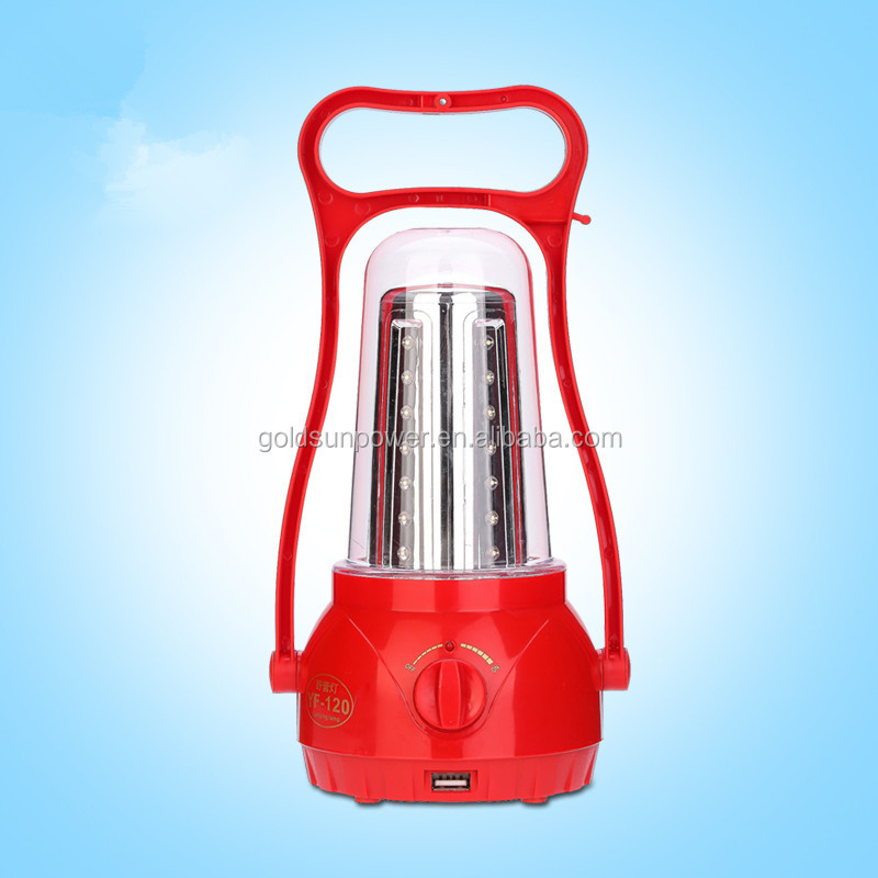 Outdoor Led Light Portable Solar Camping Lantern With Fm Radio And ...