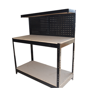 2018 latest corrosion protection adjustable industrial boltless workstation