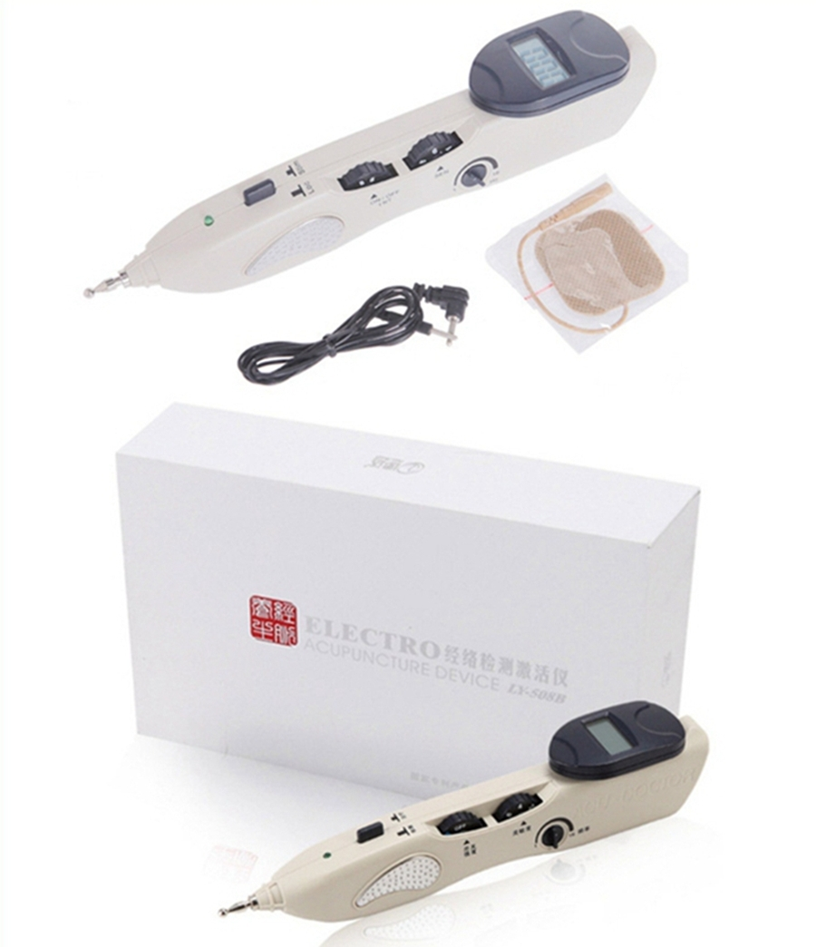 On TV therapy acupoint stimulator eletronic pulse treatment acupuncture laser pen
