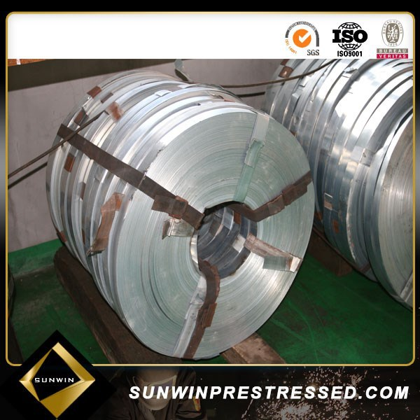 Raw materials Galvanized Steel Strip for Corrugated Duct