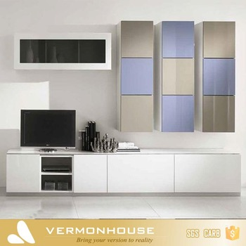 Vermonhouse High Gloss Nuovo Modello Di Tv Lcd Wood Design Moderno ...